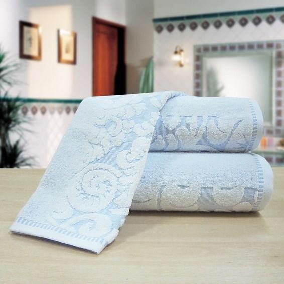 """Махровое полотенце """"Версаль"""" м0394 хлопок - фото 33775"""