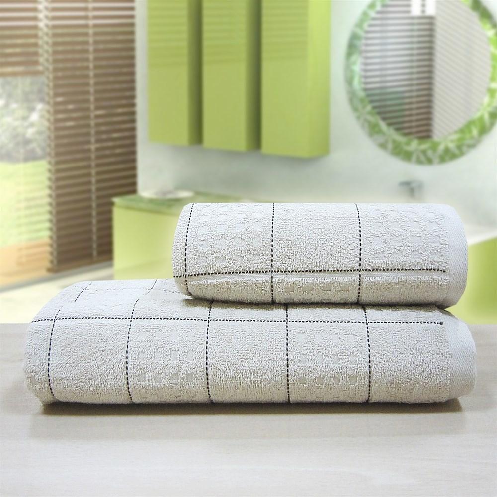 """Махровое полотенце """"Квадро"""" м1081 хлопок - фото 35735"""