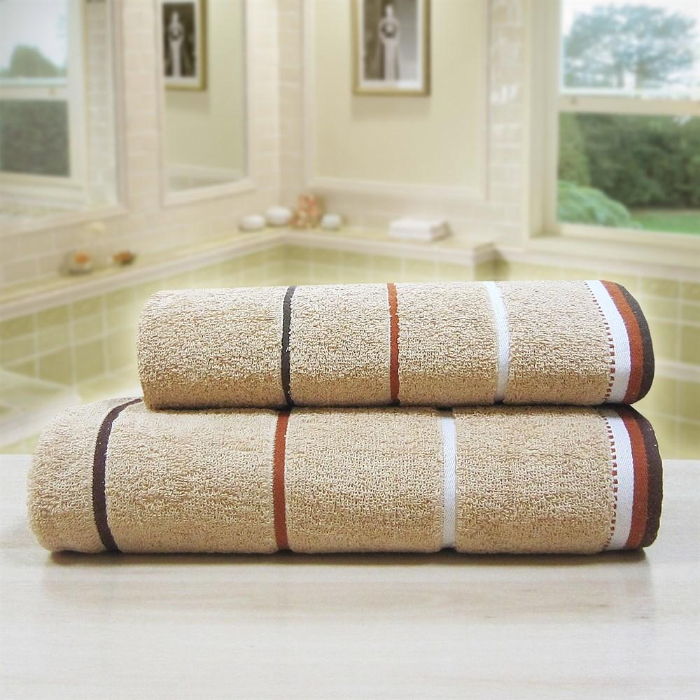 """Махровое полотенце """"Тренд"""" м0754 хлопок - фото 35801"""