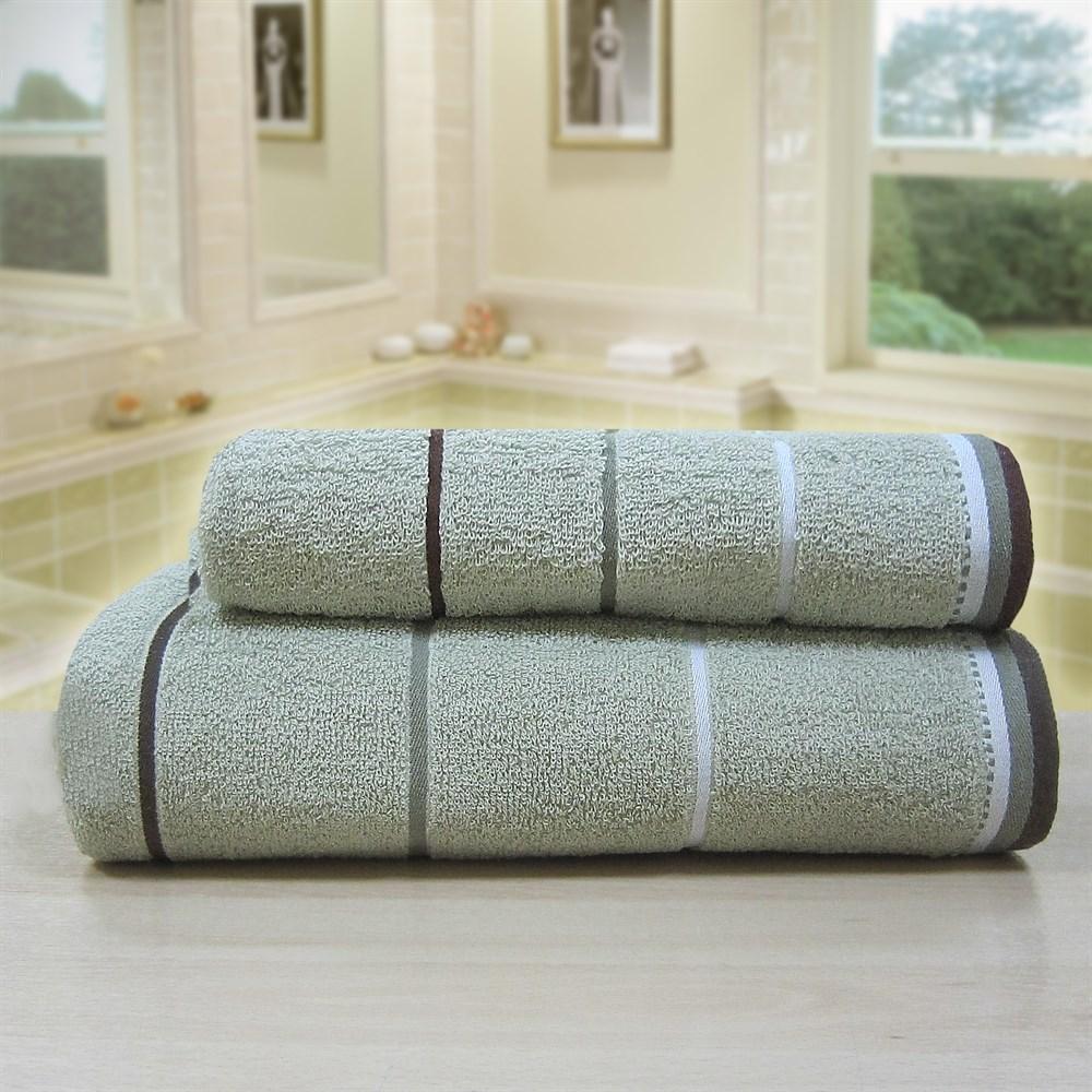 """Махровое полотенце """"Тренд"""" м0754 хлопок - фото 35802"""