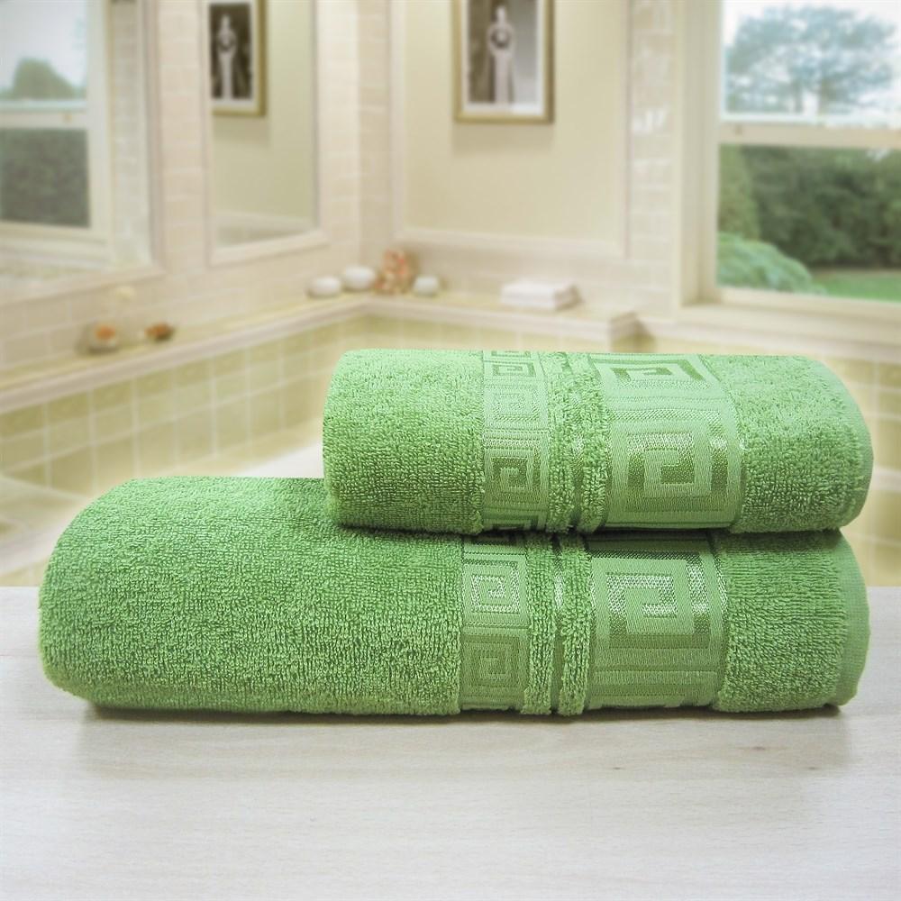 """Махровое полотенце """"Гера"""" м4005 хлопок - фото 35816"""