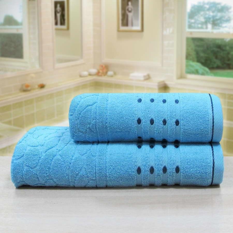 """Махровое полотенце """"Морион"""" м0742 хлопок - фото 36245"""