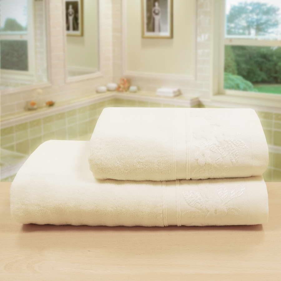 """Махровое полотенце """"Изабель"""" м0765 хлопок - фото 48107"""