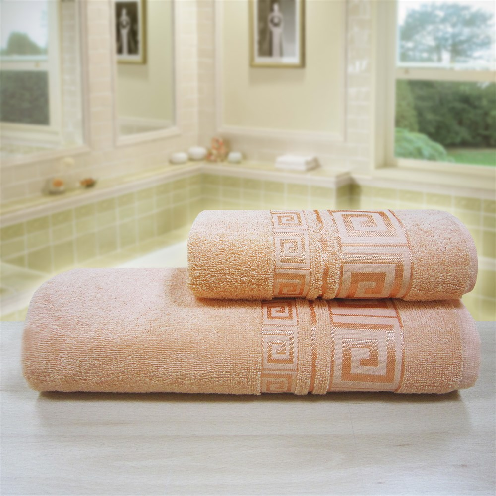 """Махровое полотенце """"Гера"""" м4005 хлопок - фото 48455"""