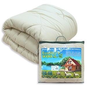 Одеяло Овечья шерсть Экостиль Wool - фото 50976