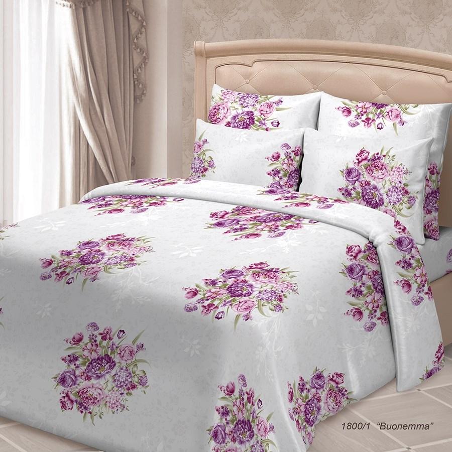 Постельное белье SORRENTO ЖАКЛИН Виолетта 1800-1 - фото 860648
