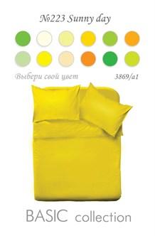 Постельное белье MONOCHROME сатин 3869а-1